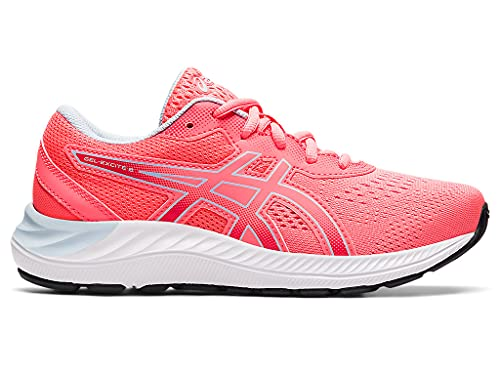 ASICS Kid's Gel-Excite 8 GS Running Shoes, 6, Blazing Coral/Soft Sky