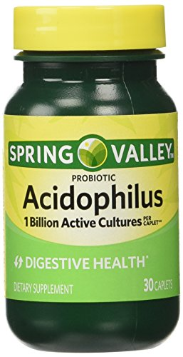 Spring Valley - Acidophilus, 1 Billion Active Cultures, 30 Caplets