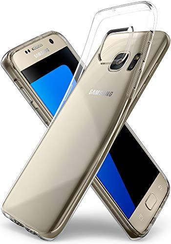 Spigen Liquid Crystal Hülle Kompatibel mit Samsung Galaxy S7 -Crystal Clear