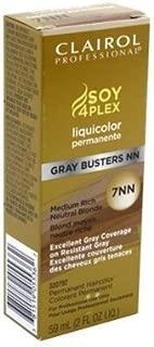Clairol Professional Liquicolor 7Nn Gray Busters Medium Rich Neutral Blonde 2oz (3 Pack)