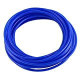 DealMux 5Meter 4 mm de di/ámetro interno de 6 mm OD Gas Gasolina PU L/ínea tubo de la manguera azul claro