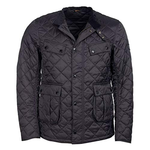 Barbour International Steppjacke Ariel Quilt Jacke schwarz, Blouson, MQU1240, Schwarz, MQU1240 L