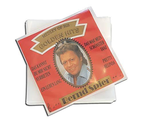 Single Schallplatten Schutzhüllen Protected (100 Stück)