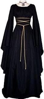 Womens Halloween Cosplay Costume Renaissance Medieval Irish Gothic Victorian Dress