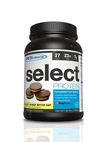 PEScience Select Protein Powder, Chocolate Peanut Butter Cup, 27 Serving, Whey and Casein Blend