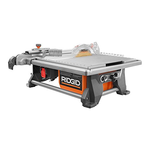RIDGID 120-Volt 7 in. Table Top Wet Tile Saw