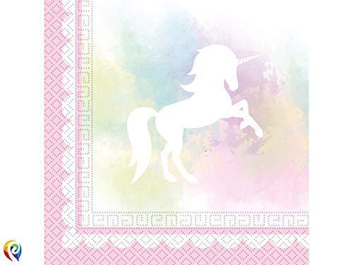 Procos Partyware 84861 Servietten, rose