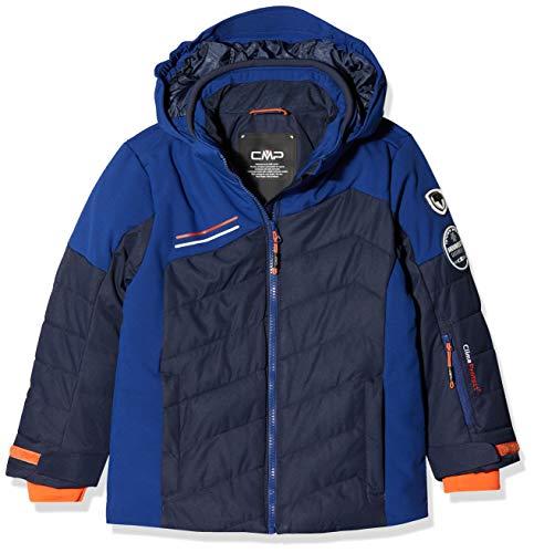 CMP Jungen Skijacke Jacke, Black Blue, 176