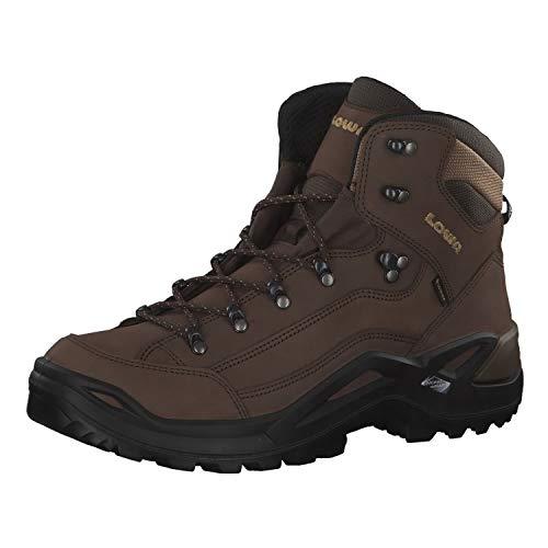 Lowa Renegade GTX Mid, Stivali da Escursionismo Uomo, Marrone (Espresso 0442), 46 EU