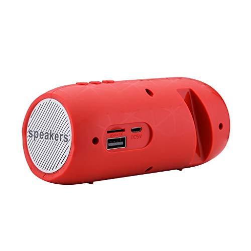 Tonsee Bluetoothスピーカー ポータブルワイヤレスブルートゥースステレオSDカードFMスピーカースマートフォン用タブレットPCスピーカーコッカー電話 [並行輸入品]