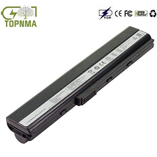 Topnma A32-K52 A42-K52 Laptop Akku für ASUS A52 K52 K52D K52F K52J K52JC K52JE K52JR K52JT K52N X52 X 52J X52N P42 P52 [6 Zellen/4400mAh]