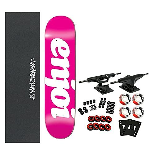 "Enjoi Skateboard Complete Flocked Pin 8.0"" x 31.6"""