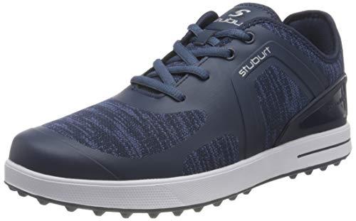 Stuburt Golf SBSHU1127 Urban Flow - Zapatos de Entrenamiento de Golf con nódulos de tracción para Hombre, Hombre, Zapatos de Golf, SBSHU1127, Azul Marino, 41