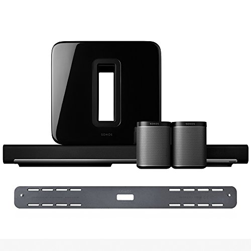 5.1 Home Theater Set with Sonos Play:1,SUB, and PLAYBAR with Wall Mount Kit