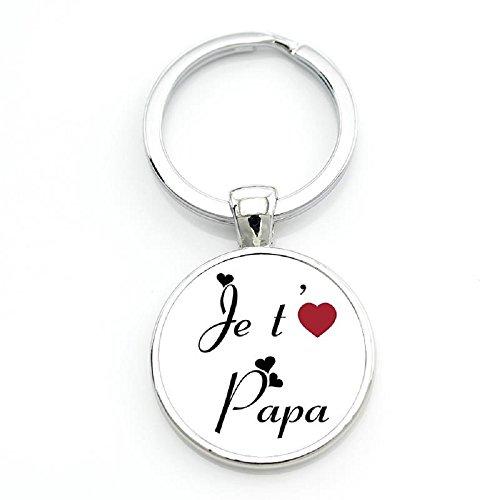 WAY2BB - Porte-clés fête des pères Je t'aime Papa (6)