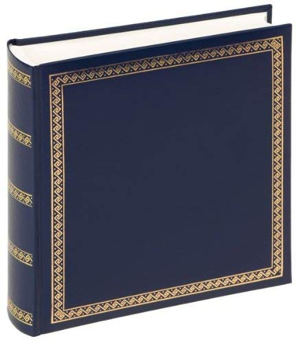 walther design MX-103-L Classicalbum das schicke Dicke, 26x25 cm, blau