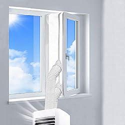 REDTRON 400CM Guarnizione Universale per Finestre per Condizionatore Portatile, Asciugatrice, AirLock per Tutti Condizionatori Portatili, Hot Air Stop (Facile da Installare)