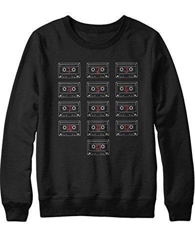 HYPSHRT Sweatshirt 13 Reasons Why Tapes C600031 Noir XL