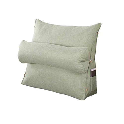ZWL Creative Triangle coussin, oreiller canapé oreiller de cou Big coussin de chevet dossier de chaise de bureau Coussin oreiller de lit protection du cou taille dossier 45 * 45 * 20 cm mode z ( taille : 45*45*20cm )