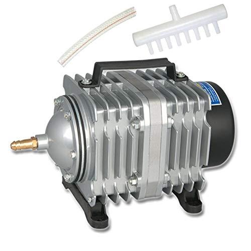 Filtro Profesional Acuario Bomba de oxígeno aireador Aire 35W 65L / min Bomba de Aire lectromagnetic compresor de Aire pecera pecera Aumento oxígeno hidroponía (Color : RESUN ACO 003 A Set)