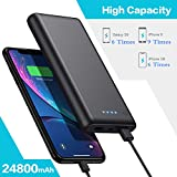 Zoom IMG-1 iposible power bank 24800mah caricabatterie