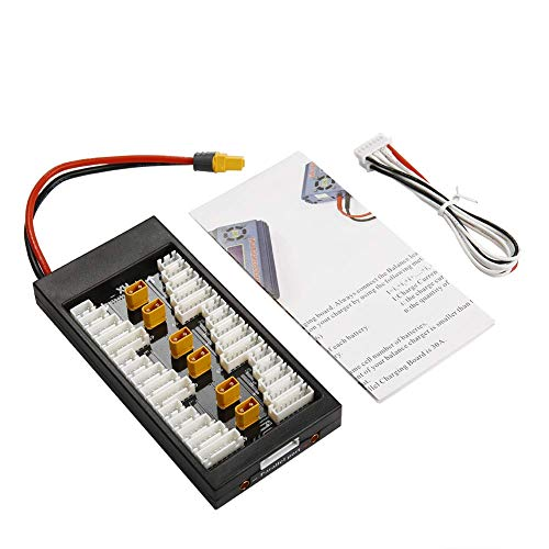 NIDICI XT30 2S-6S 40A Lipo Battery Parallel Charge Board Balance Charging Plate XT60 Input for iSDT D2 Q6 SC-608 SC-620 Charger