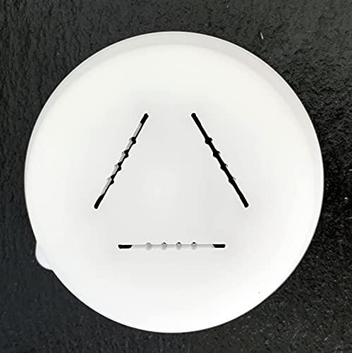 BNN – Mafalde Rigate – Larghezza 25 mm – Finezza 1 mm – 1,2 mm – ALMAFR25 – Pasta Disc compatibile con Philips Pasta Maker