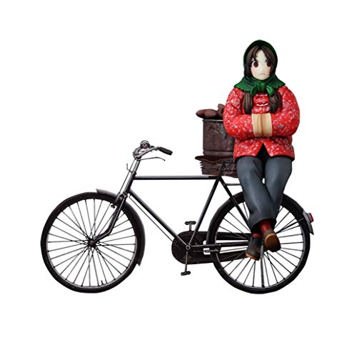 KaiWenLi La serie Outcast bebé Feng invierno al horno de batata Back On retro bicicletas animado Acción carácter de modelo Material PVC estatua gráfico Caracteres El Más Popular China Anime