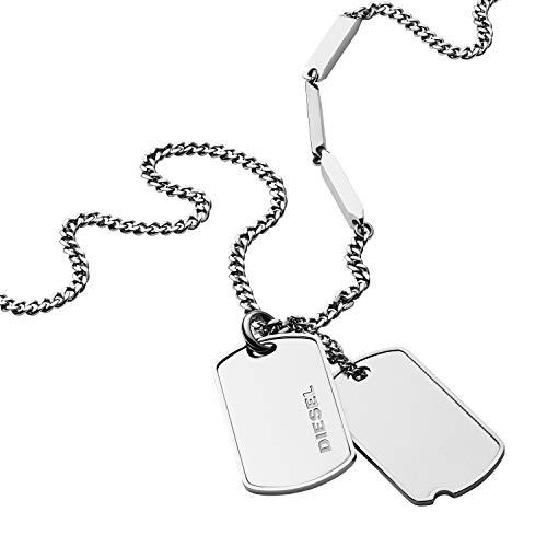 Diesel Collar con colgante Hombre acero inoxidable - DX1173040