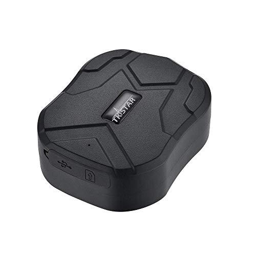 TKSTAR GPS Tracker Localizador Gps Coches Localizador Localizador GPS para Coche Tiempo Real Rastreador GPS Coche Seguimiento Vehiculos 150 Días de Espera con Fuerte Imán TK905B