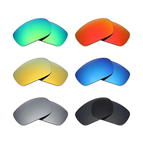 MRY 6Paar Polarisierte Ersatz Gläser für Oakley Jawbone Sonnenbrille