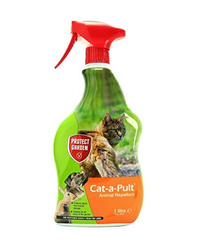 PROTECT GARDEN Cat-a-Pult Animal Repellent, Orange