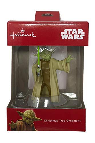 Star Wars 2018 Disney Yoda Christmas Tree Ornament