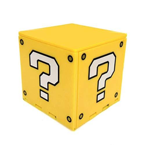 Monllack Caja de Almacenamiento de Tarjetas de Juego, para Nintend Switch Estuche de Tarjeta de Juego Premium para Nintend Switch Caja de Almacenamiento NS Caja de Tarjeta Plegable (Amarillo)