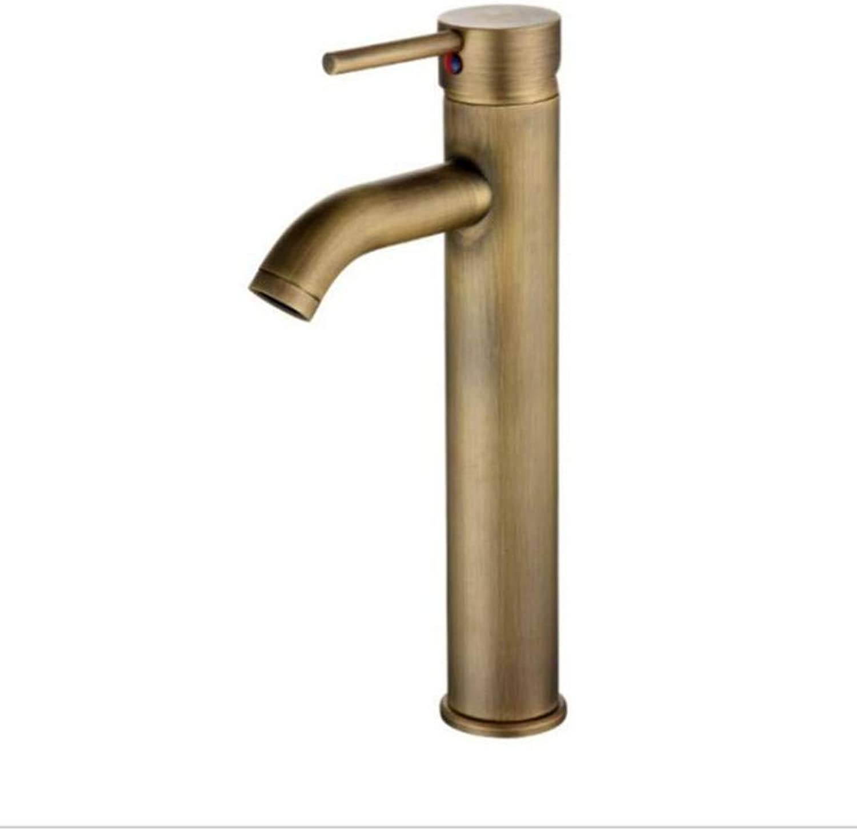 Taps Kitchen Sink Mono Spout Basincopper Single Hole Basin Faucet Art Basin Above Counter