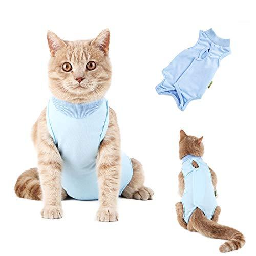 VICTORIE Haustiere Schutz Kleidung Wiederherstellung Anzug Weste Chirurgie zur Verwendung nach der Sterilisation Tierhautkrankheiten für Hunde Katzen Welpe S