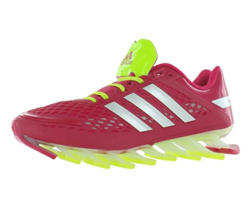 adidas Springblade Razor Boys Running Shoes Size US 6.5, Regular Width, Color Pink/Silver/Lime