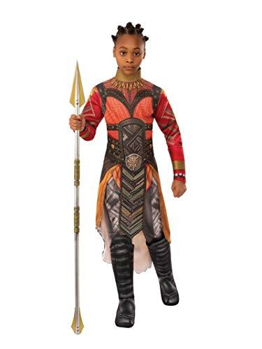 Rubie's Marvel Avengers: Endgame Child's Deluxe Dora Milaje Okoye Costume, Medium