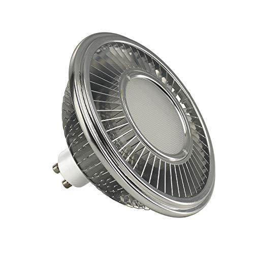 SLV Bombilla LED / bombilla, lámpara, LED/GU10, 2700 K, 13 W, 1000 lm, aluminio, regulable