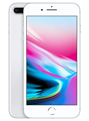 Price comparison product image Apple iPhone 8 Plus (64GB,  Silver) [Locked] + Carrier Subscription