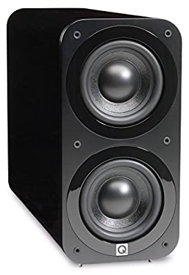 Q Acoustics 3070s Active Subwoofer (Gloss Black) from Qacoustics