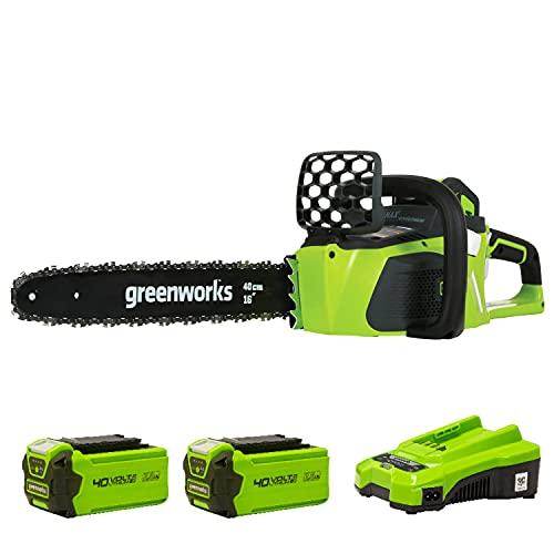 Motosierra Bateria Worx Marca Greenworks Tools