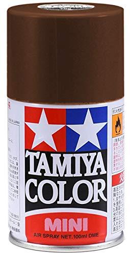 タミヤ スプレー No.01 TS-1 レッドブラウン 85001