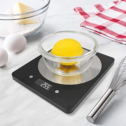 Bilancia alimentare digitale WHXL Bilancia da 11 libbre / 5 kg di cottura elettronica in scala alimentare, bilancia, accurata, per la casa, per la cucina