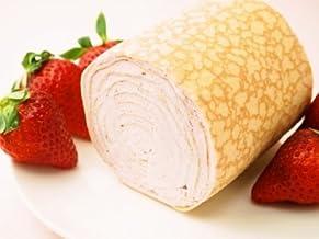 【フレーバーズ】みんな大好きいちごのミルクレープロール♪ お口にいちごの香りがひろがります