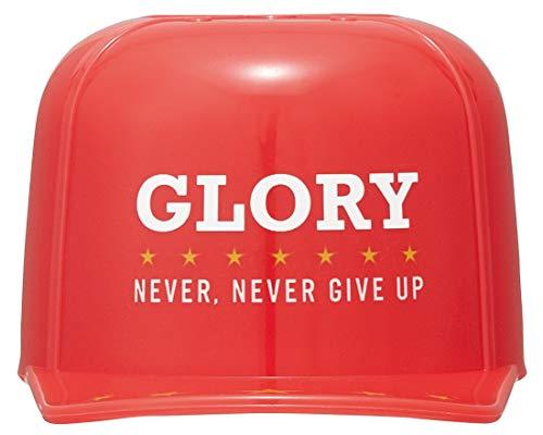 スケーター キャップコップ 帽子型 ペットボトル キャップ コップ GLORY レッド 140ml CPB1C