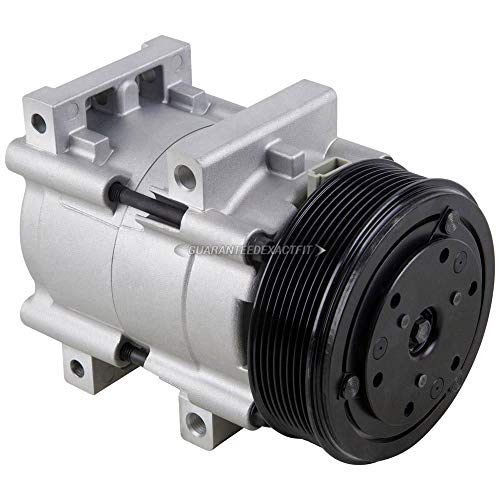 AC Compressor & A/C Clutch For Ford F250 F350 Super Duty 7.3L PowerStroke Diesel 1999 2000 2001 2002 2003 - BuyAutoParts 60-01126NA NEW