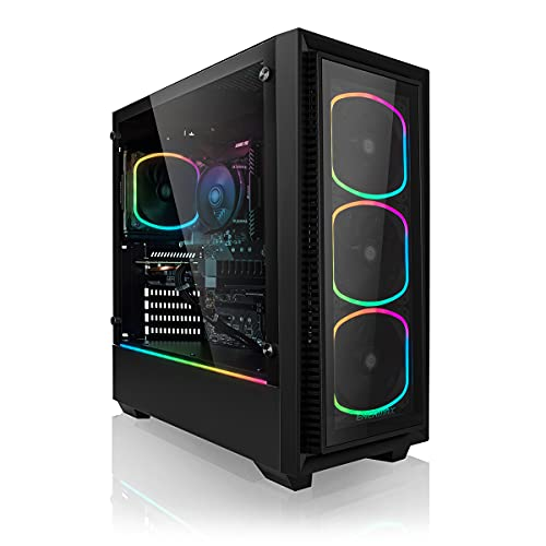 Megaport High End Gaming-PC Intel Core i7-10700K 8X 5.1 GHz Turbo • Nvidia GeForce RTX 3060 12GB • 1TB M.2 SSD • 16GB DDR4 3000 • Windows 10 • WLAN