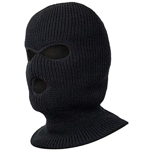 Black Snake® Taktische Sturmhaube Paintball Maske Gesichtsmaske Schwarz OneSize