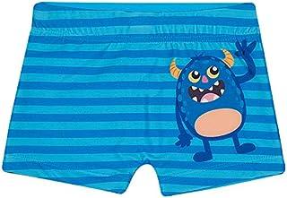 Shorts de Praia Monstrinhos Toddler, TipTop, Azul Claro, 1T
